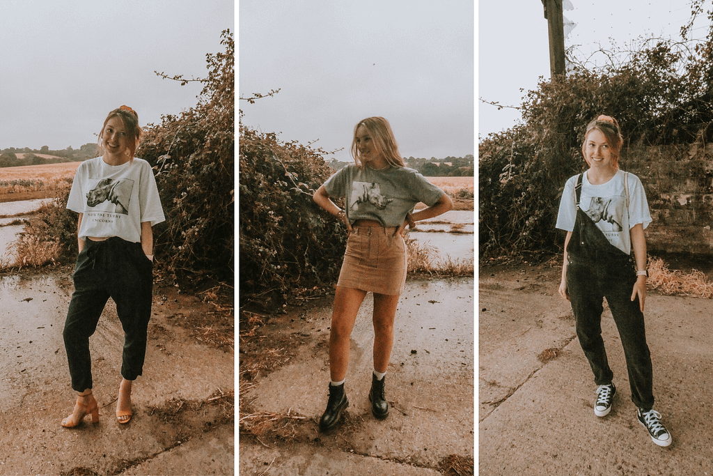HOW TO WEAR A GRAPHIC TE| 15 DIFFERENT OUTFIT IDEAS | Pigments by Liv