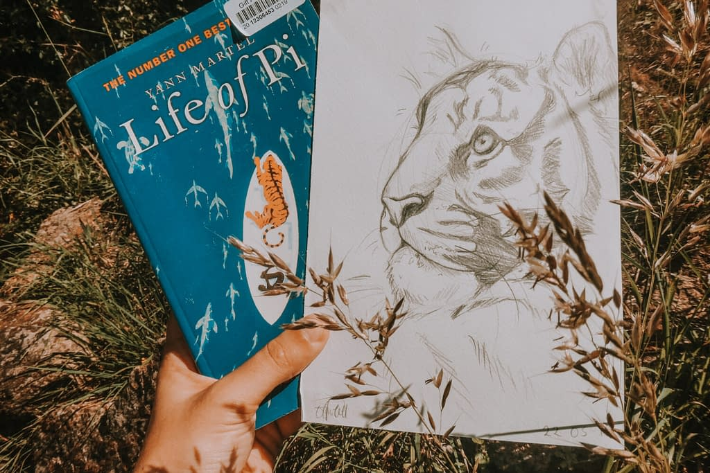 Life of Pi | Summer Reading: 4 Books for Cat Lovers | Pigments by Liv
