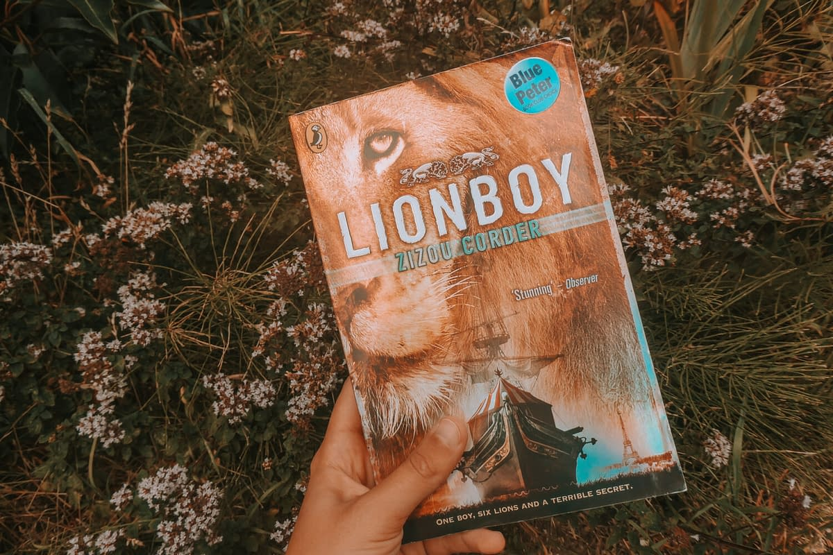 Lionboy | Summer Reading: 4 Books for Cat Lovers | Pigments by Liv