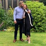 Graduation with Boyfriend | Olivia Howlett Founder of Pigments by Liv