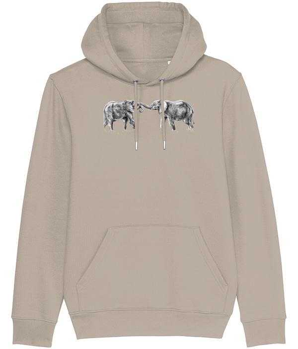 Desert Dust Elephant Hoodie | Pigments by Liv