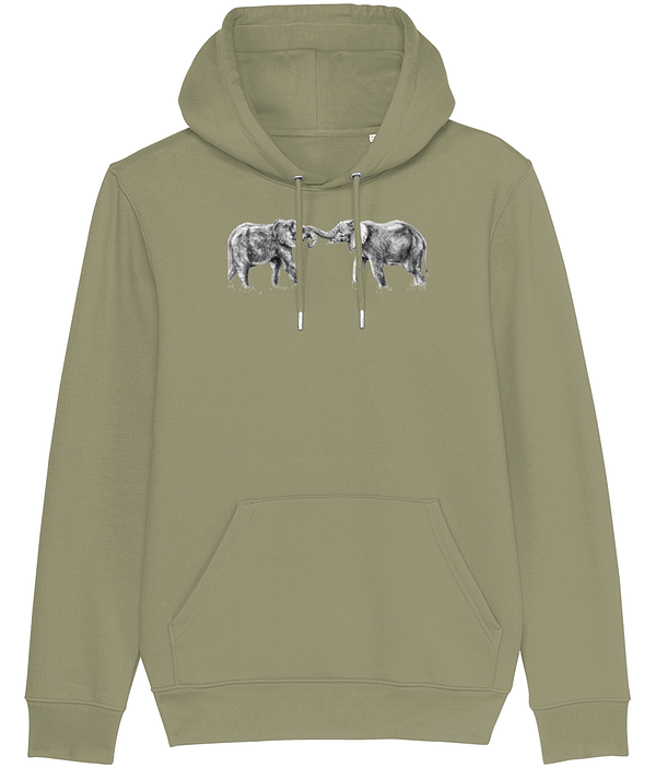 Sage Elephant Hoodie | Pigments by Liv