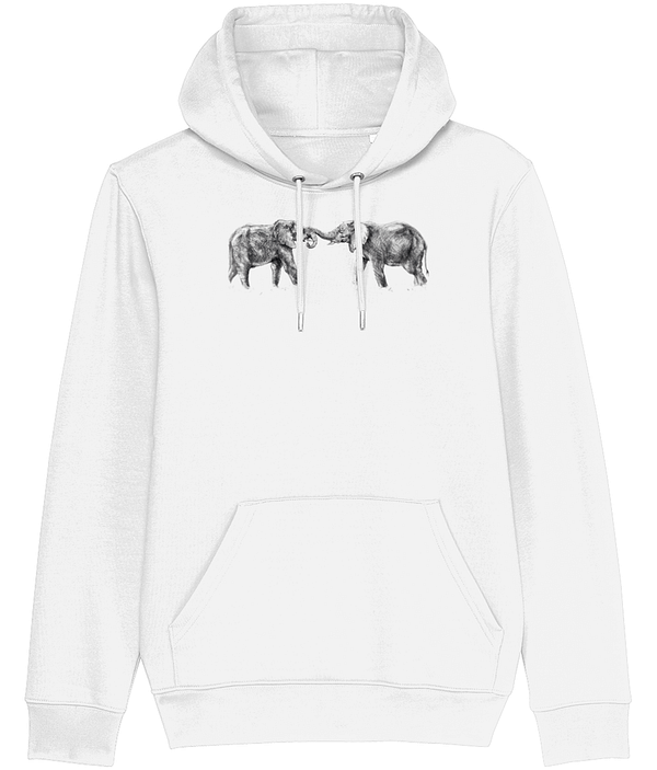 White Elephant Hoodie | Pigments by Liv