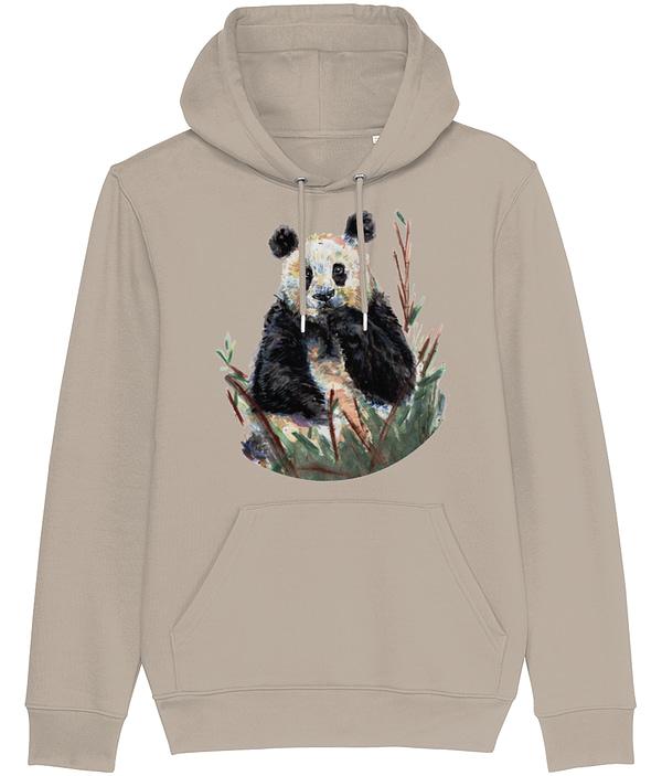 Desert Dusk Panda Hoodie   Pigments by Liv