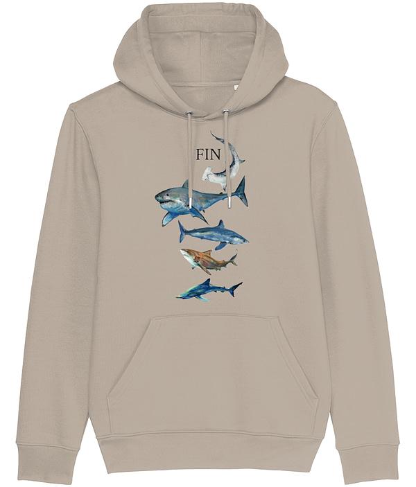 Desert Dust Shark Hoodie | Pigments by Liv