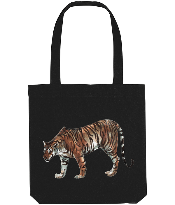 Limited Edition Tiger Tote Bag   Pigments by Liv