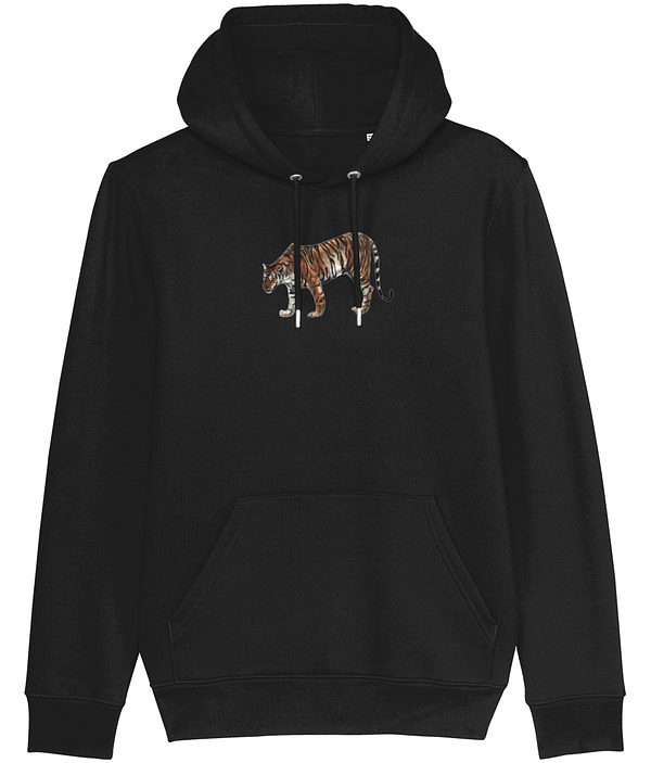 Black Limited Edition Tiger Hoodie | Pigments by Liv