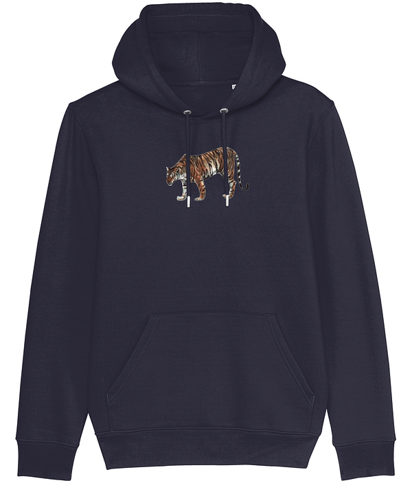 French Navy Limited Edition Tiger Hoodie | Pigments by Liv