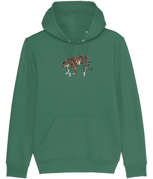 Varsity Green Limited Edition Tiger Hoodie | Pigments by Liv