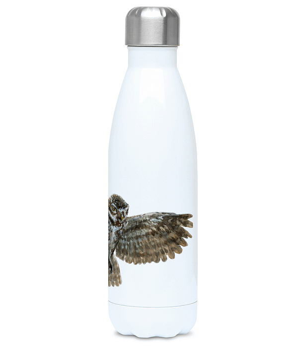 Reusable Owl Water Bottle | Pigments by Liv