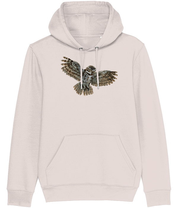 Owl Hoodie Candy Pink | Pigments by Liv