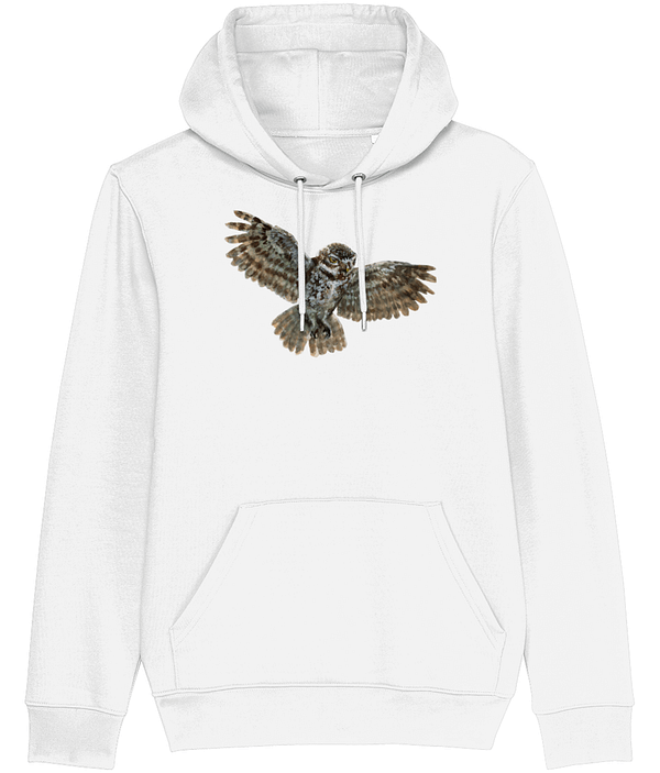 White Owl Hoodie | Pigments by Liv