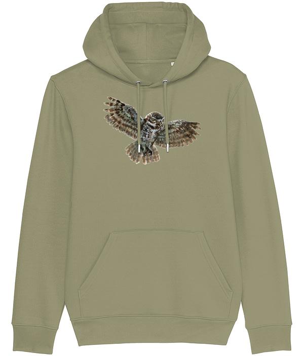 Sage Owl Hoodie | Pigments by Liv