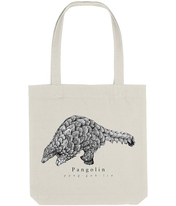 Natural Pangolin Tote Bag | Pigments by Liv