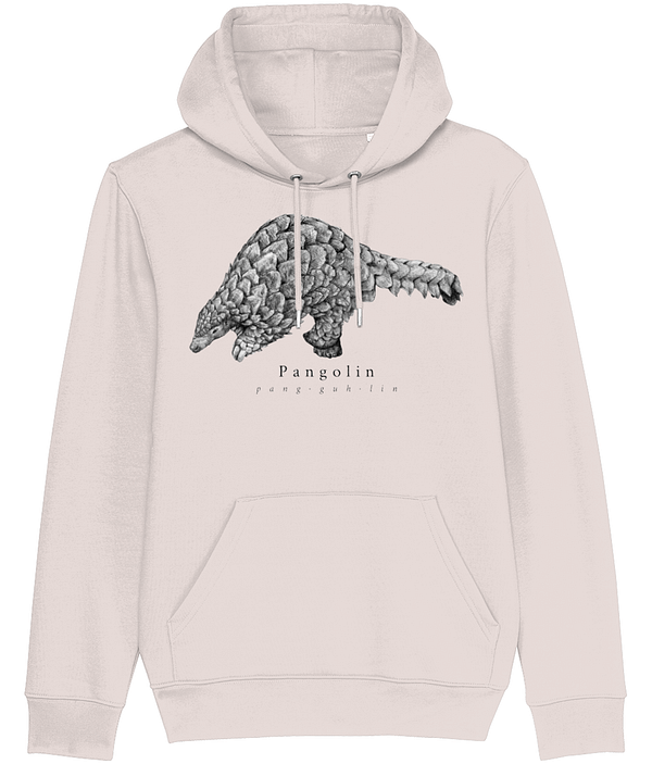 Candy Pink Pangolin Hoodie | Pigments by Liv