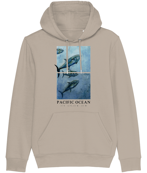 Desert Dust Bluefin Tuna Hoodie   Pigments by Liv