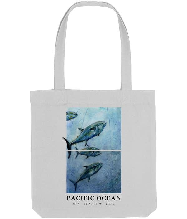 Bluefin Tuna Tote Bag   Pigments by Liv