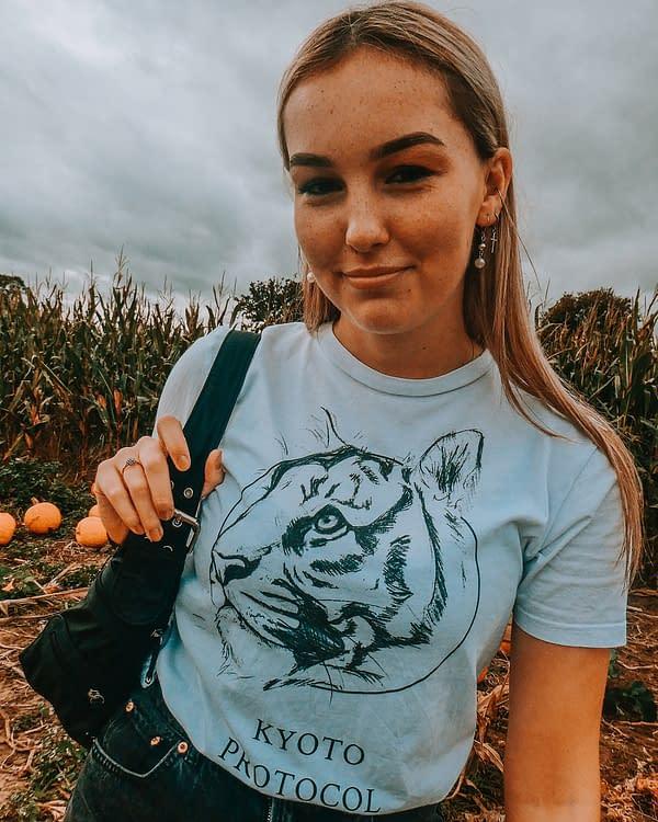 Tiger T-Shirt | Pigments by Liv