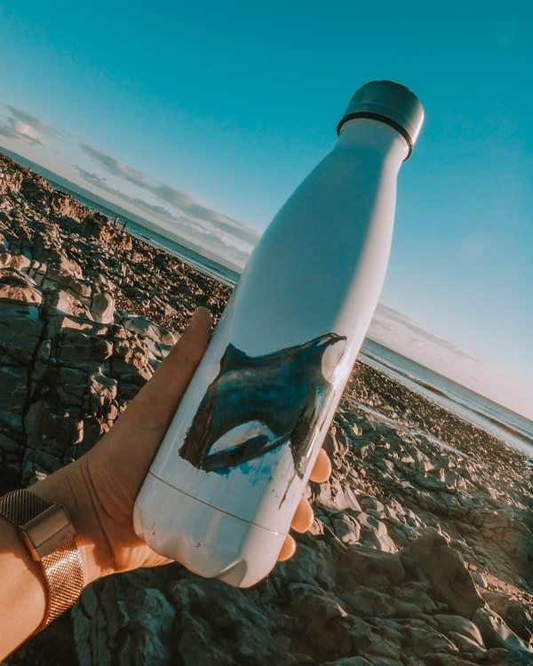 Reusable Orca Water Bottle | Pigments by Liv