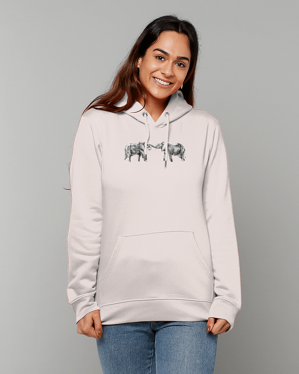 Elephant Hoodie | Pigments by Liv