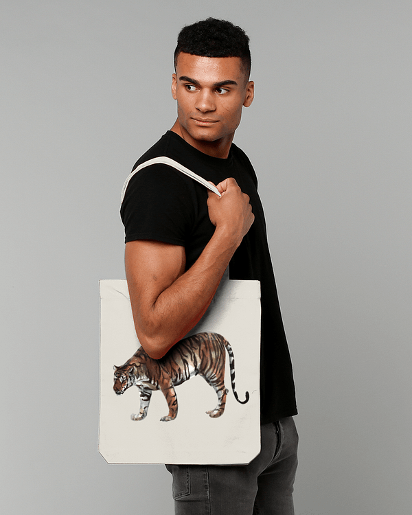 Limited Edition Tiger Tote Bag | Pigments by Liv
