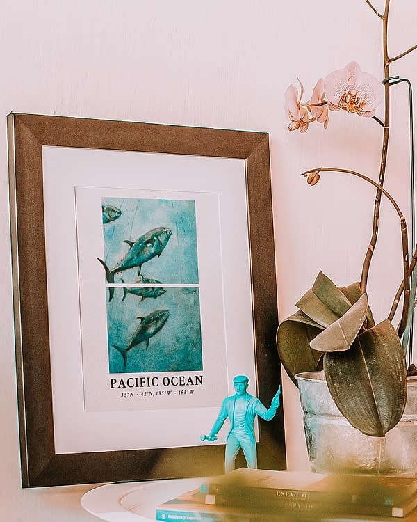 Bluefin Tuna Art Print | Pigments by Liv