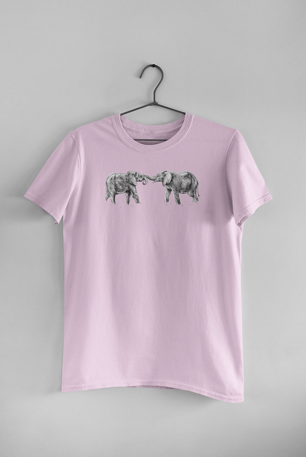 Sweet Lilac Elephant T-Shirt | Pigments by Liv