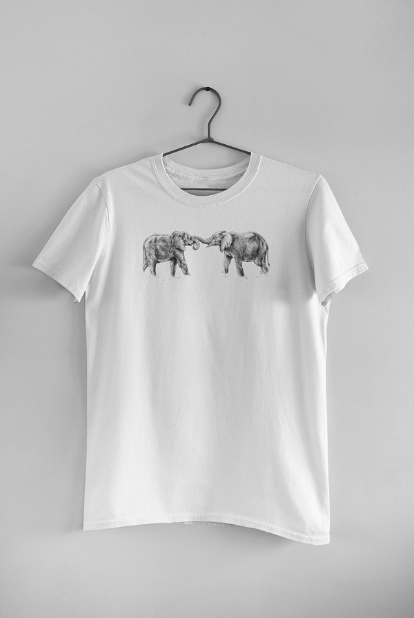 White Elephant T-Shirt | Pigments by Liv