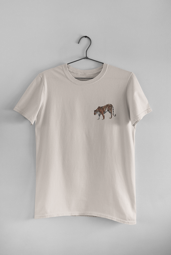 Misty Pink Limited Edition Tiger T-Shirt | Pigments by Liv