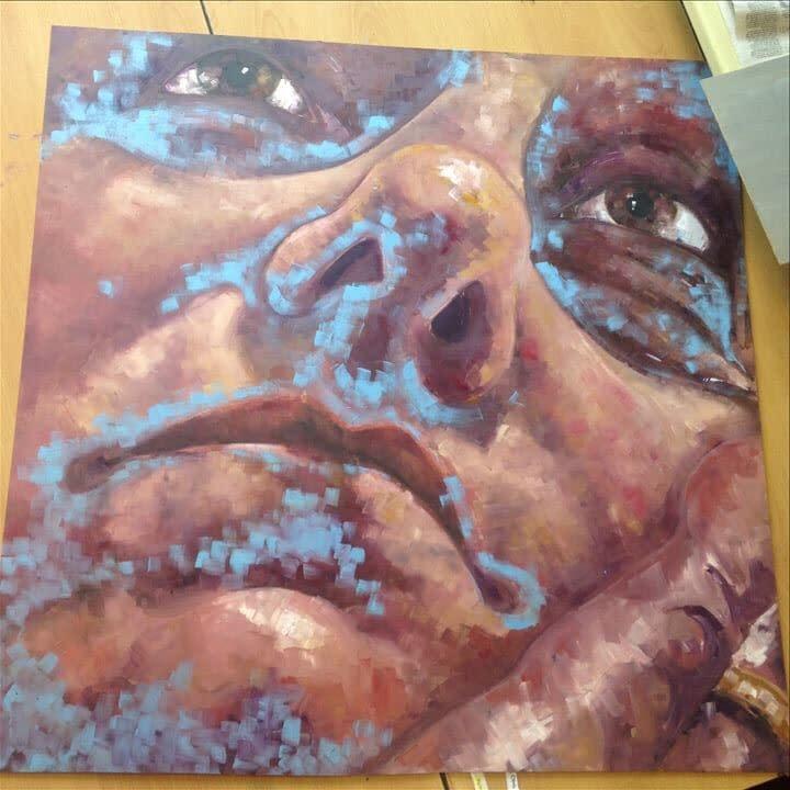 A-Level Art Final Piece | Pigments by Liv