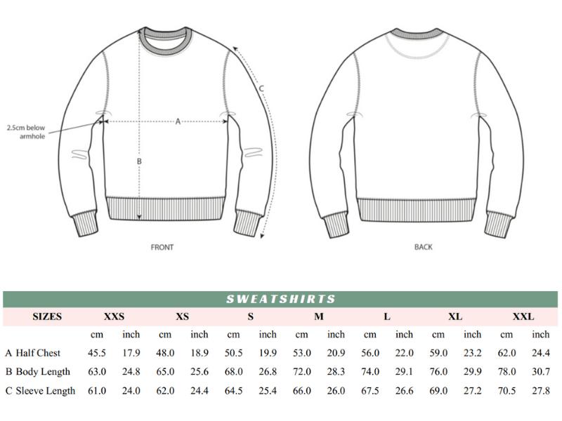 Sweatshirt Guide | Pigments by Liv