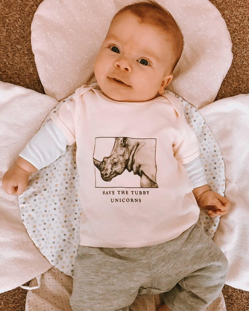 Rhino Baby Top | Pigments by Liv