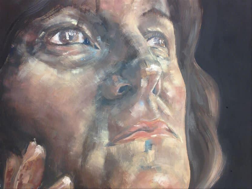 A-Level Art Portrait | Pigments by Liv