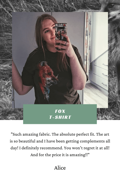 Fox T-shirt Review | Pigments by Liv