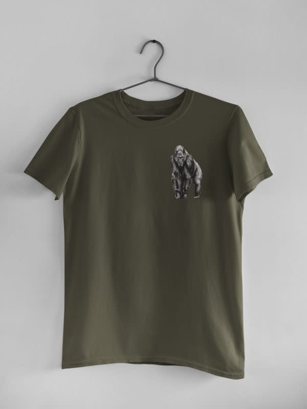Moss Green Gorilla Tee | Pigments by Liv