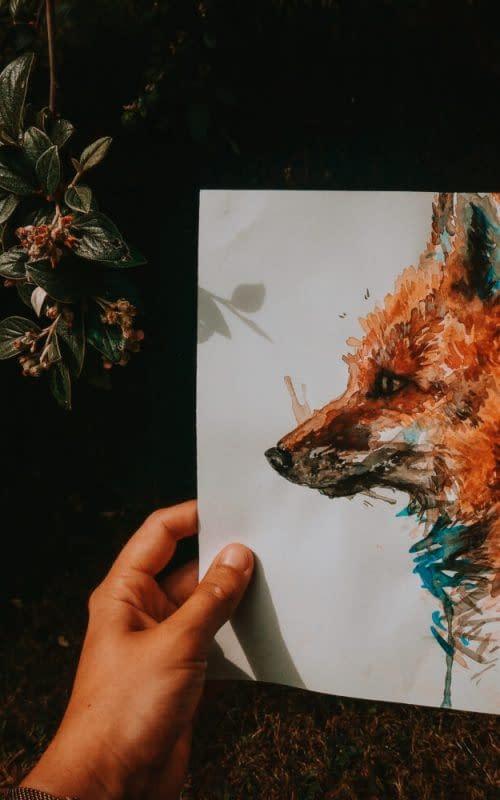 Fox Print | Pigments by Liv