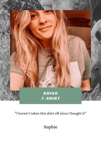 Rhino T-Shirt | Pigments by Liv