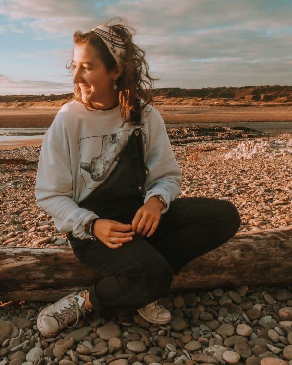 Rhino Sweatshirt | Pigments by Liv