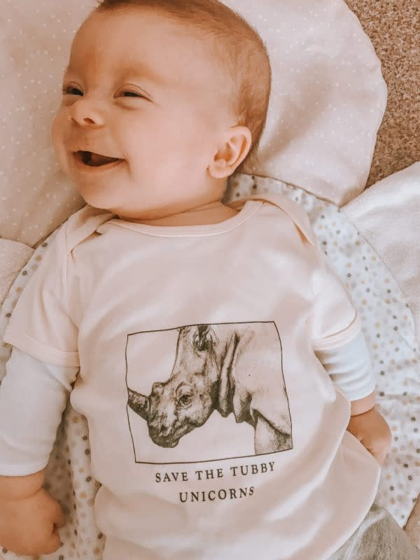 Baby Rhino Top | Pigments by Liv