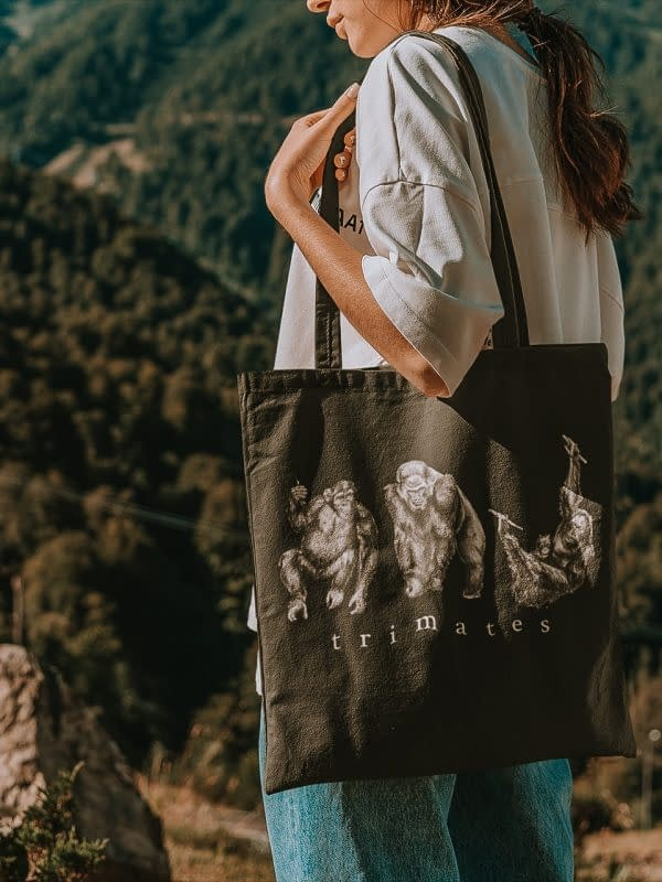 Primate Tote Bag | Pigments by Liv